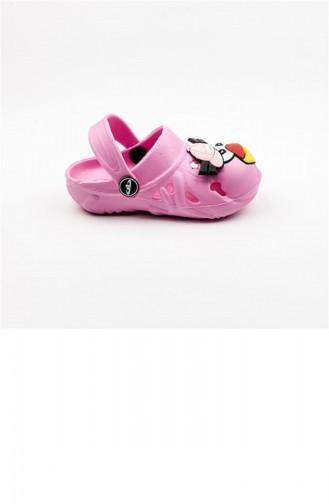 Pantoufles & Sandales Pour Enfants Rose 1890.PEMBE