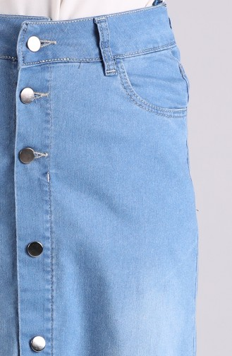 Jupe Bleu Jean 2310A-01