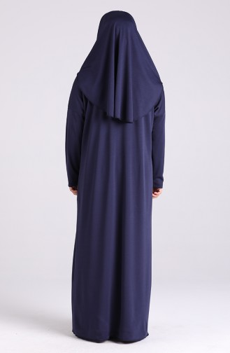Navy Blue Praying Dress 0930-02