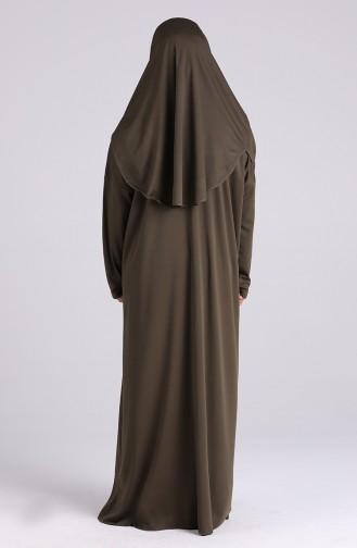 Khaki Praying Dress 0930-03