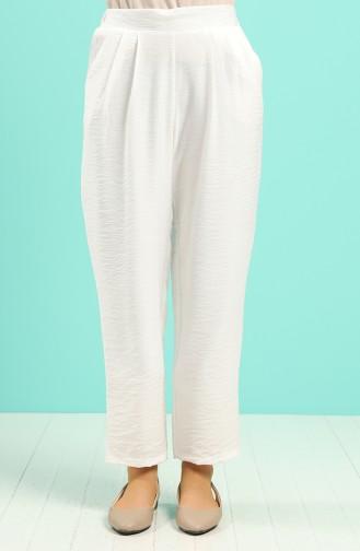 بنطال أبيض 5016-02