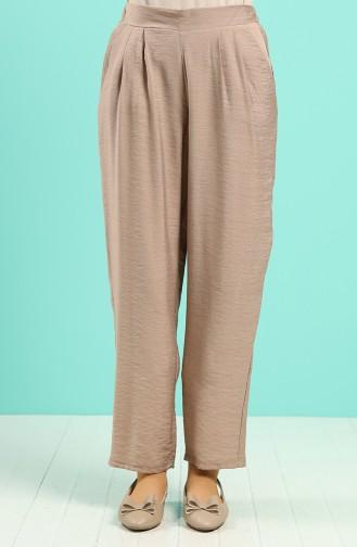 Aerobin Fabric Pants with Pockets 5016-03 Mink 5016-03