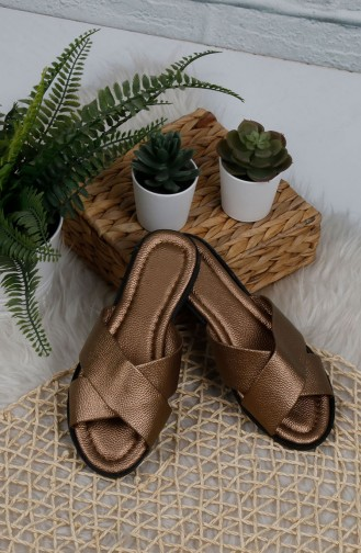Copper Summer slippers 0002-07