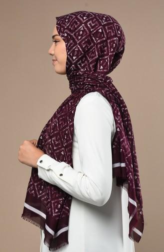 Dark Purple Sjaal 90641-06