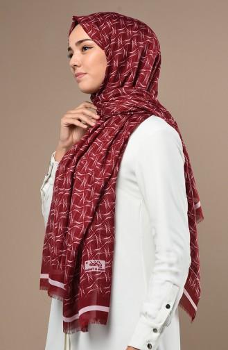 Claret red Sjaal 90642-05