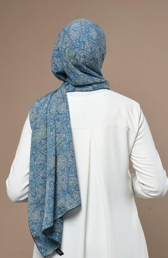 Châle Bleu Foncé 54238-01