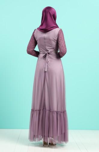 Habillé Hijab Lila 5317-03