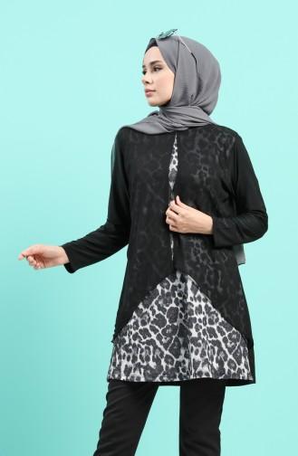 فستان رمادي 4567B-01