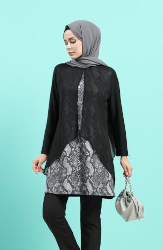 فستان رمادي 4567C-01