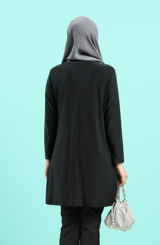Grau Hijap Kleider 4567C-01