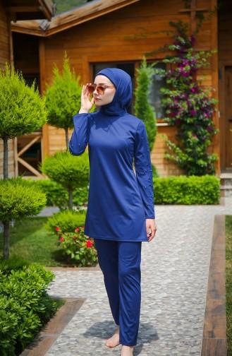 ملابس السباحة أزرق كحلي 1012-01