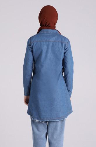 Tunique Bleu Jean 2030-01
