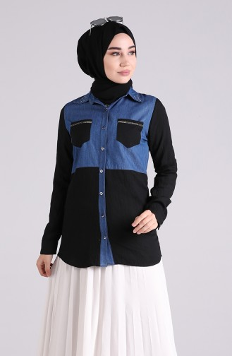 Navy Blue Tuniek 2032-03
