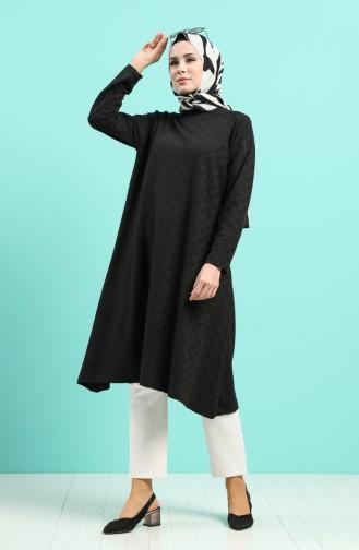 Tunique Noir 8076-01