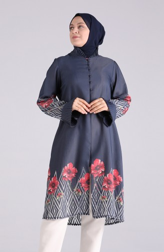Navy Blue Tunic 2410-02