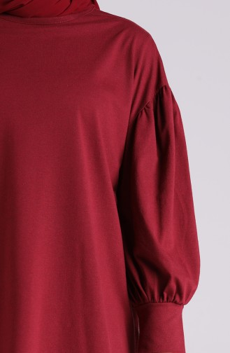 Weinrot Bluse 4003-05