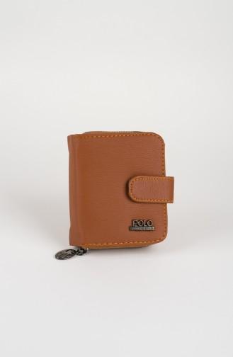 محفظة نقود أخضر تبغ 42-03
