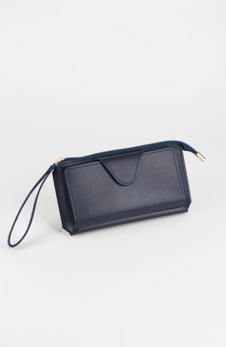 Navy Blue Wallet 44-04
