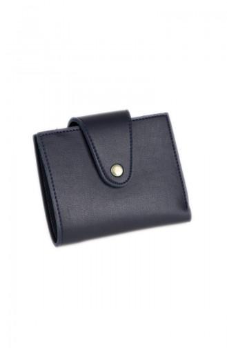 Navy Blue Wallet 49-02