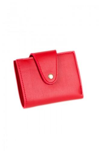 محفظة نقود أحمر 49-04