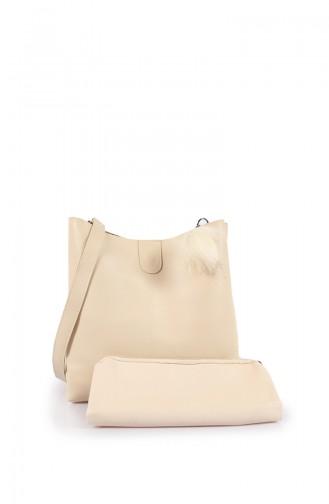 Beige Shoulder Bag 30Z-02