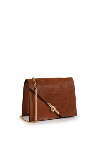 Tobacco Brown Shoulder Bag 05Z-04
