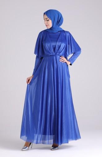 Habillé Hijab Blue roi 60173-01