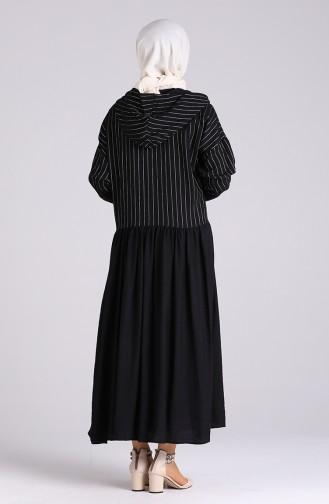 Robe Hijab Noir 20019-02