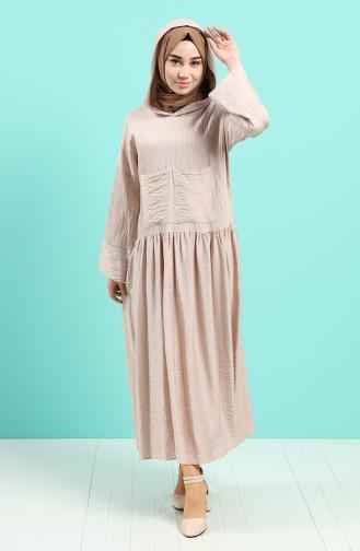 Robe Hijab Poudre 20019-04