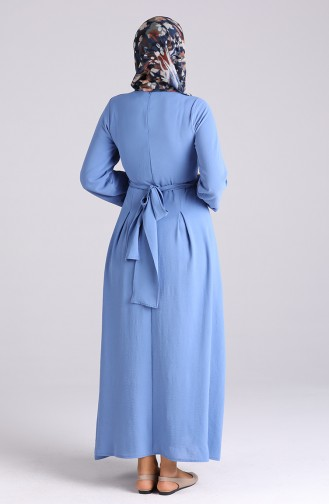 Robe Hijab Bleu 20025-03