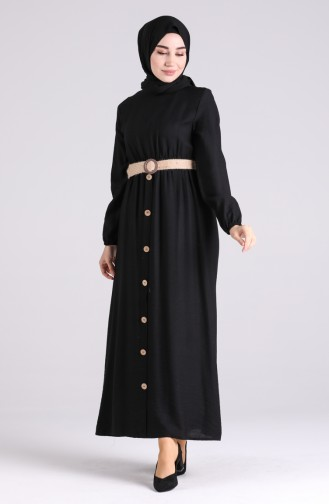 Robe Hijab Noir 0029-05
