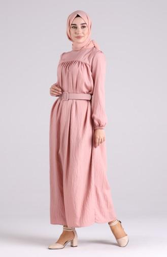 Robe Hijab Poudre 0051-03