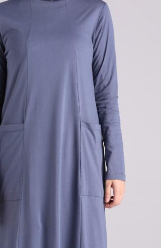 فستان نيلي 0321-03