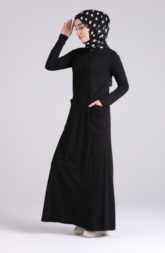 فستان أسود 0321-04