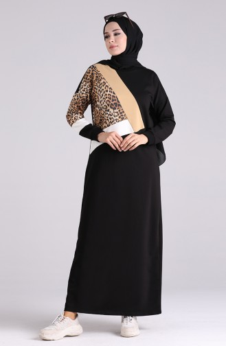 Robe Hijab Noir 0400-01