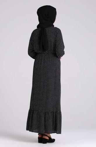 Robe Hijab Noir 4043-01