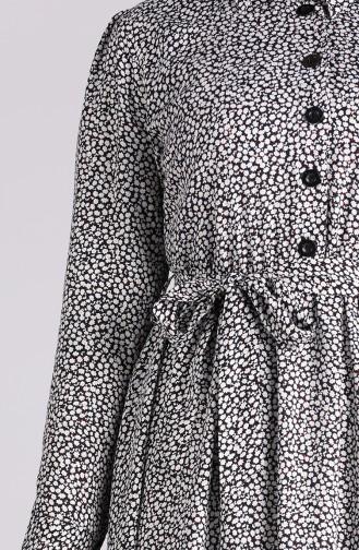 Robe Hijab Noir 7099A-05