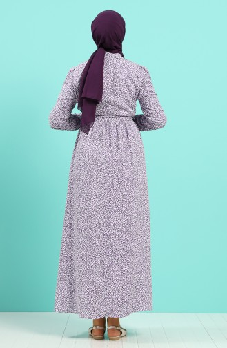 Purple Dress 7099A-06