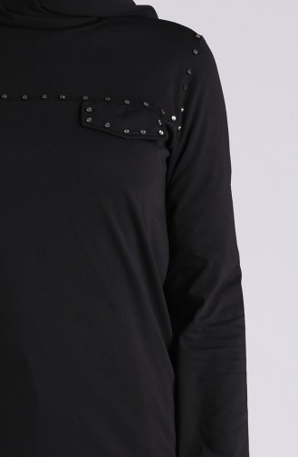 Tunique Noir 0230-06