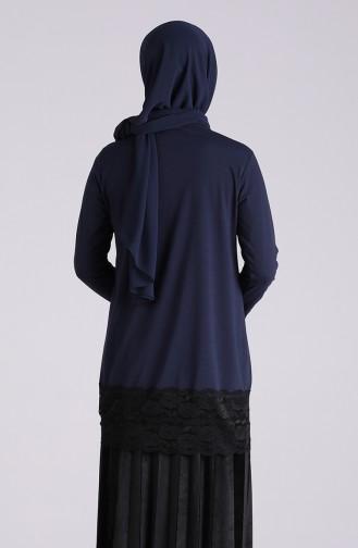 تونيك أزرق كحلي 4005-05