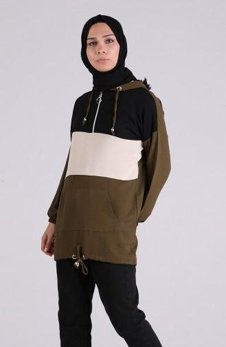 Khaki Tunics 5736-04