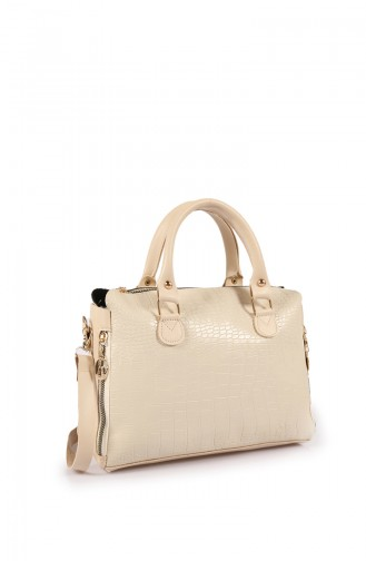 Beige Shoulder Bag 63Z-09
