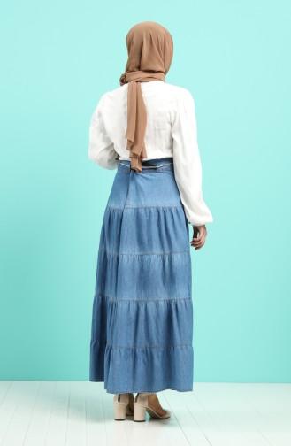 Jupe Bleu Jean 0301-01