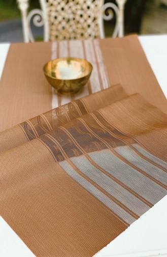 Textile de Maison Couleur Brun 13