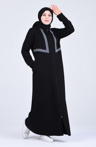 Schwarz Abayas 10031-01