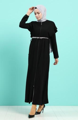 Black Abaya 5948-01