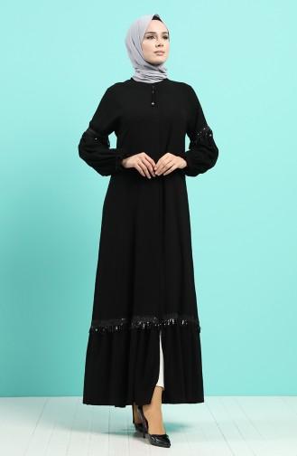 Abayas Noir 8093-01