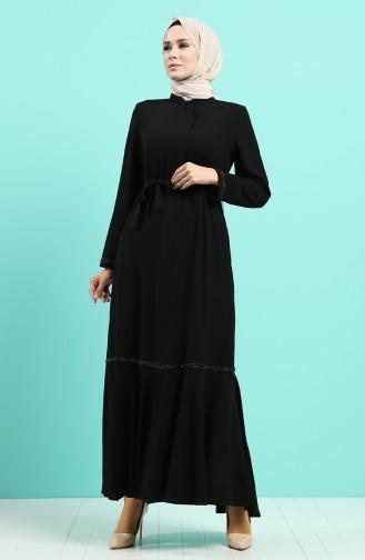 Abayas Noir 8096-04