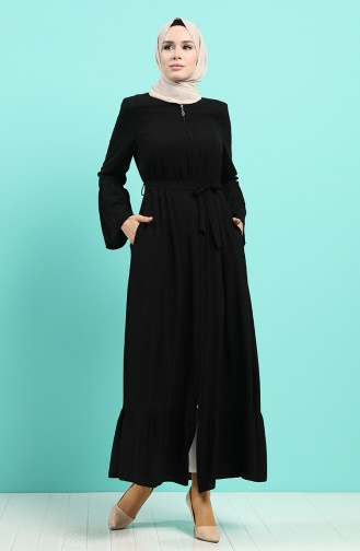 Abayas Noir 8098-01