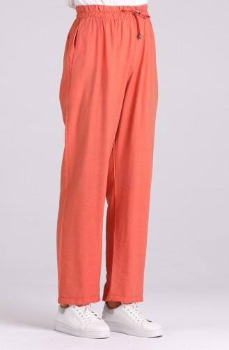 Pantalon Couleur brique 0151-13
